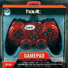 Игровой Манипулятор Gamepad HAVIT HV-G92 USB, красный, фото 2