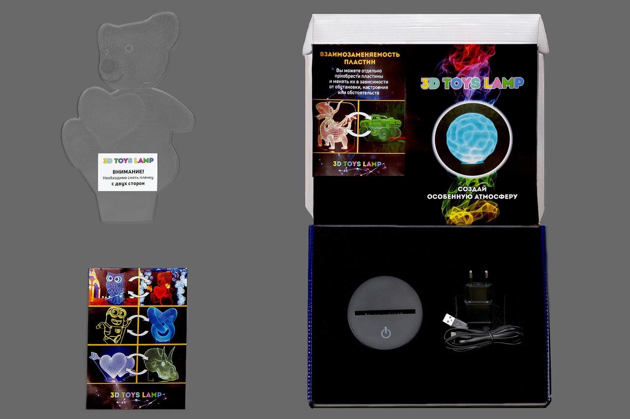 """3D светильник """"Хэллоуин"""" (3D-418) 3"""