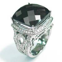 Перстень  женскийсеребряный Винтаж Os 7237