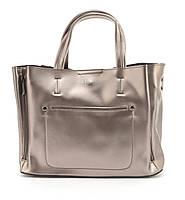 c1a242f1d4ee Суперстильная кожана прочная женская сумка среднего размера CELINE art.  0017A розовое золото