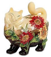 """Порцеляновий скарбничка """"Кішка"""" (Pavone) JP-158/ 3"""