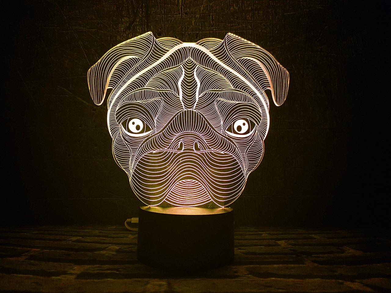 Сменная пластина для 3D ламп