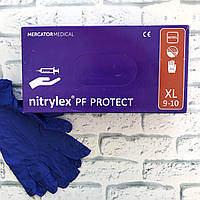 Перчатки Mercator Medical NITRYLEX PF PROTECT