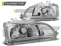 Передние фары тюнинг оптика Honda Civic