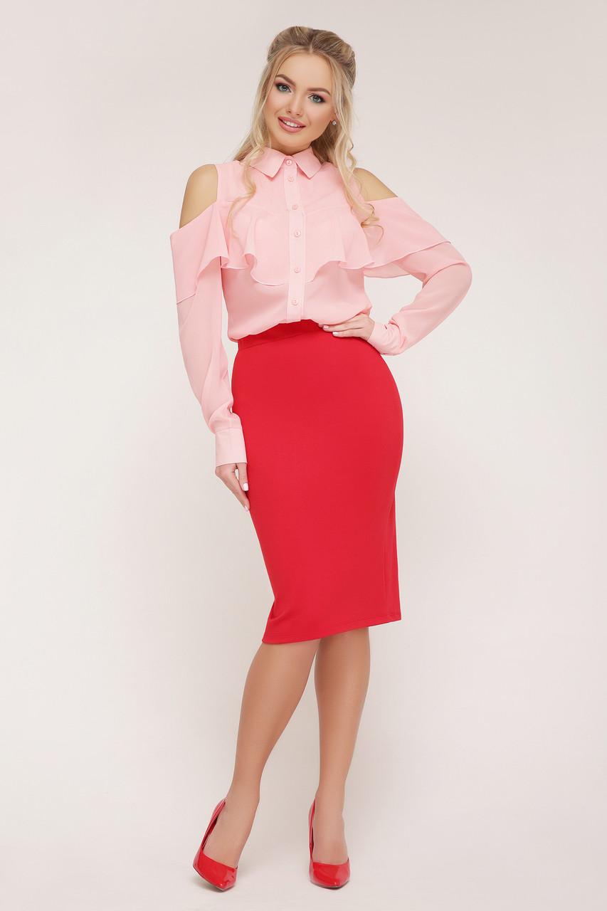 Женская шифоновая блуза Джанина д/р