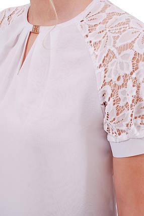 Женская шифоновая блуза Ильва к/р, фото 2