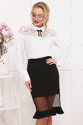 Женская шифоновая блуза Джустина д/р, фото 2