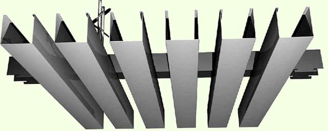 Схема кубического потолка