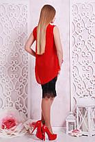 Женская креп-шифоновая блуза Санта-Круз б/р, фото 3