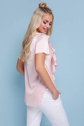 Женская шифоновая блуза Сиена к/р, фото 2