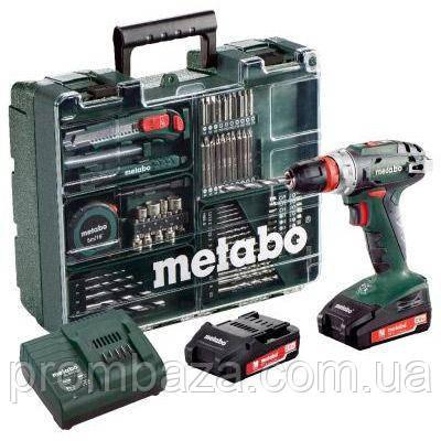 Аккумуляторный шуруповерт Metabo BS 18 Quick Mobile Workshop, фото 2
