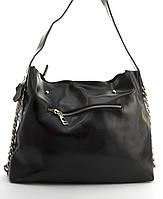 Суперстильная вместительная кожана прочная женская сумка CELINE art. 10015 черная, фото 1
