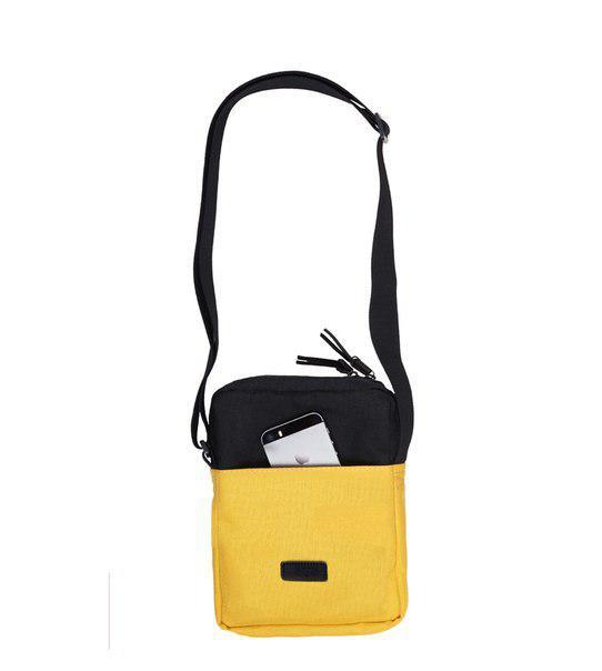 Сумка желтая MESSENGER MINI BAG 2/18   black/yellow