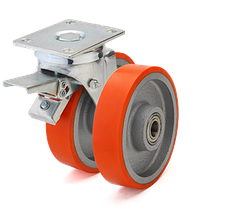 Промышленные колеса и ролики для тележек
