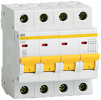 Автоматический выключатель ВА47-29 4Р 6А 4,5кА D IEK