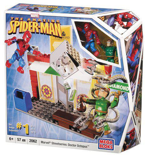 Конструктор Людина-павук і доктор Восьминіг, 57 деталей - Spider-Man & Doc Ock, Marvel, Mega Bloks, 57pcs
