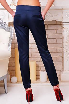 Женские брюки Хилори синие размер XS, фото 2