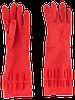 Перчатки хозяйственные L латексные с длинными манжетами ТМ «Добра Господарочка», фото 3
