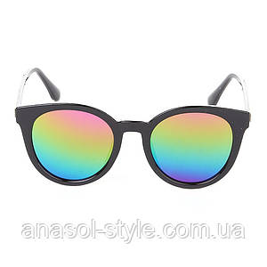 Женские очки зелёные линзы