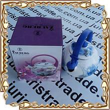 Чайник 2,2 л. Орхідея свисток/індукція емаль Interos 09С0038