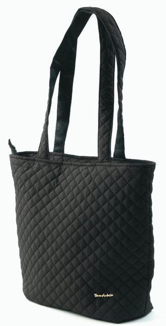 5e1984c215ae Устойчивая сумка стеганая тканевая Классический строгий дизайн Темные цвета  Смотреть в магазине Код: КГ5258 -