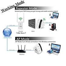 Wi-Fi Repeater ретранслятор сигнала 300 Mbps 2.4GHz, фото 2