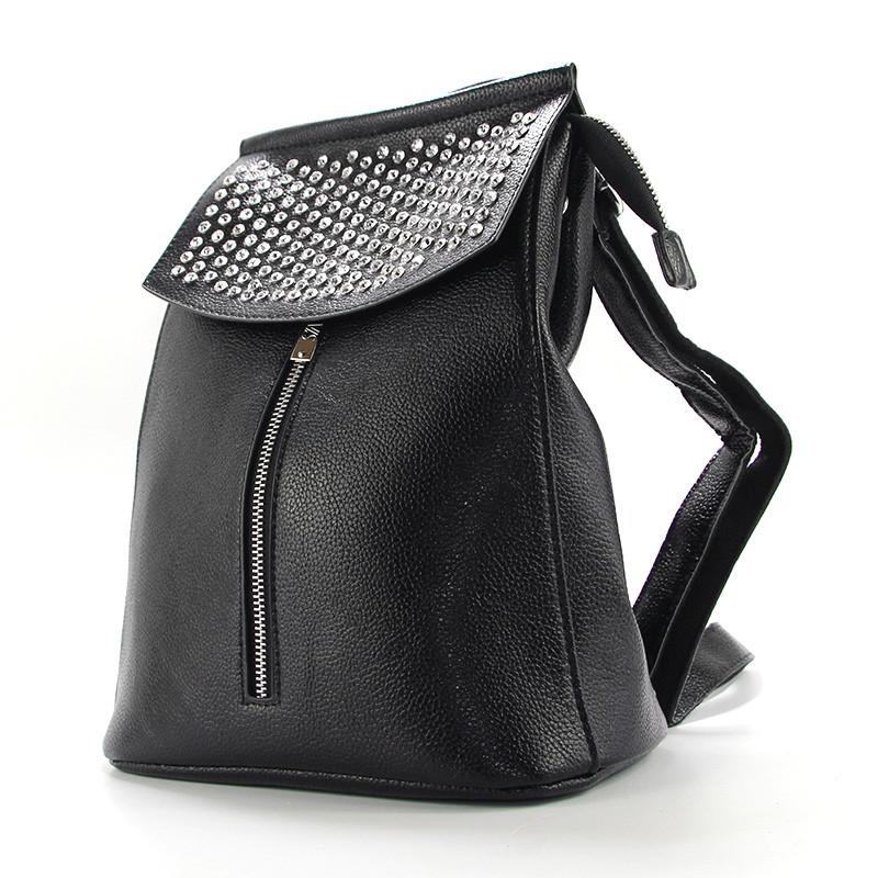 6fd7042f6514 Рюкзак женский черный со стразами Valensiy 83005-102- купить по ...