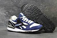 Кроссовки мужские в стиле Reebok LX 8500 код товара SD-5707. Синие с белым