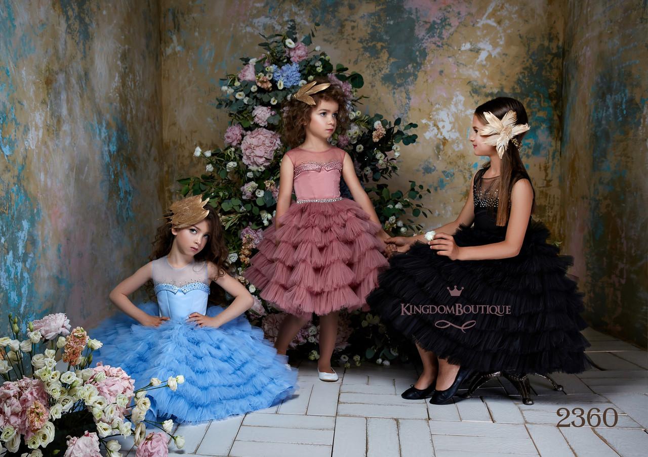 Стильное детское короткое нарядное платье. Коллекция 2018-2019гг