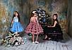 Стильное детское короткое нарядное платье. Коллекция 2018-2019гг, фото 2
