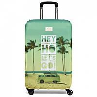 Чехол для чемодана Hey Ho Let's Go Rocket Design