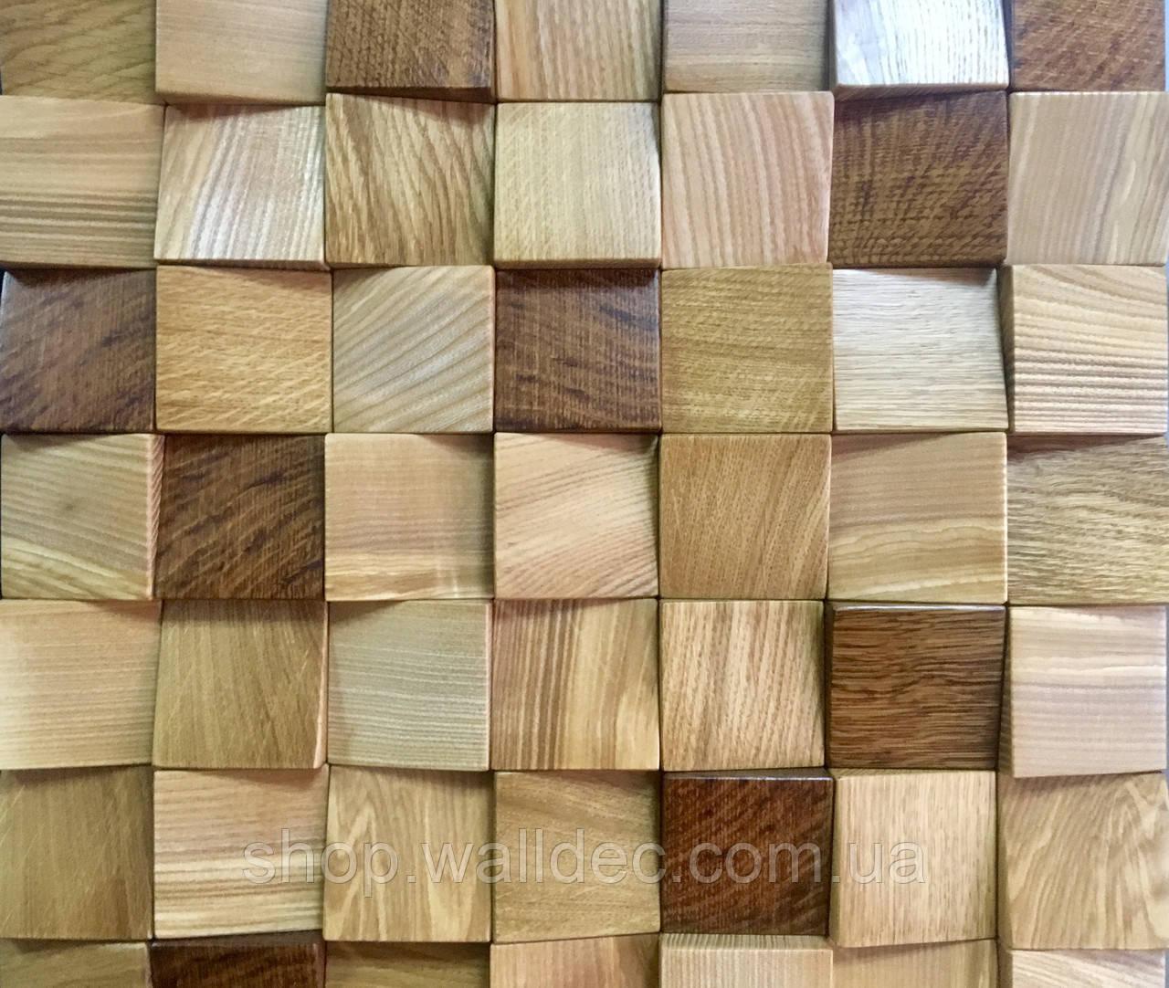 """Декоративная деревянная панель """"BIT"""""""