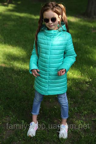 Осенний утепленный плащ на девочку Никса NUI VERY (нью вери) , фото 2