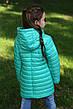 Осенний утепленный плащ на девочку Никса NUI VERY (нью вери) , фото 4