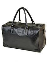 Дорожная сумка из искусственной кожи dr. Bond 8715 black на 1 отделение