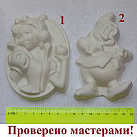 Фигурка из гипса. Гипсовая фигурка для раскрашивания Белоснежка и 7 гномов, 1 шт., фото 1