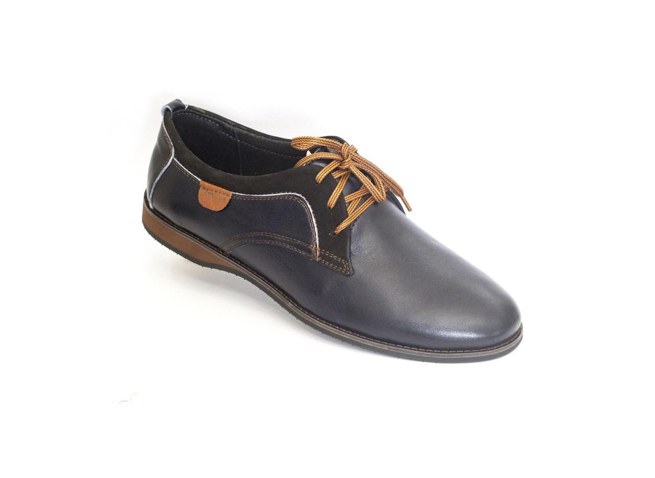dcd64299c64fed Чоловічі туфлі VadRus чорні - Магазин чоловічого взуття