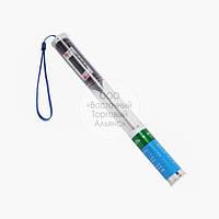 Электронный термометр в колбе