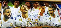 Детская подушка Real Madrid оптом, 38*38 см.