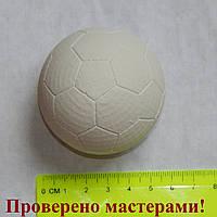 Фигурка из гипса. Гипсовая фигурка для раскрашивания футбольный мяч 3D