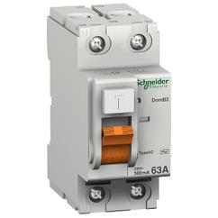 Дифференциальный Выключатель нагрузки ВД63 2П 40A 30MA АС, Испания