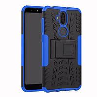 Чехол Asus Zenfone 5 Lite / 5Q / ZC600KL / 5A013WW / X017D 6.0'' противоударный бампер синий