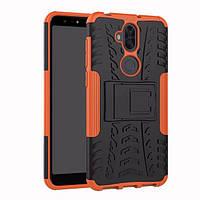 Чехол Asus Zenfone 5 Lite / 5Q / ZC600KL / 5A013WW / X017D 6.0'' противоударный бампер оранжевый