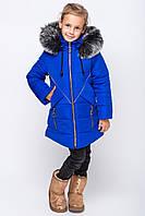 Детское зимнее пальто с капюшоном