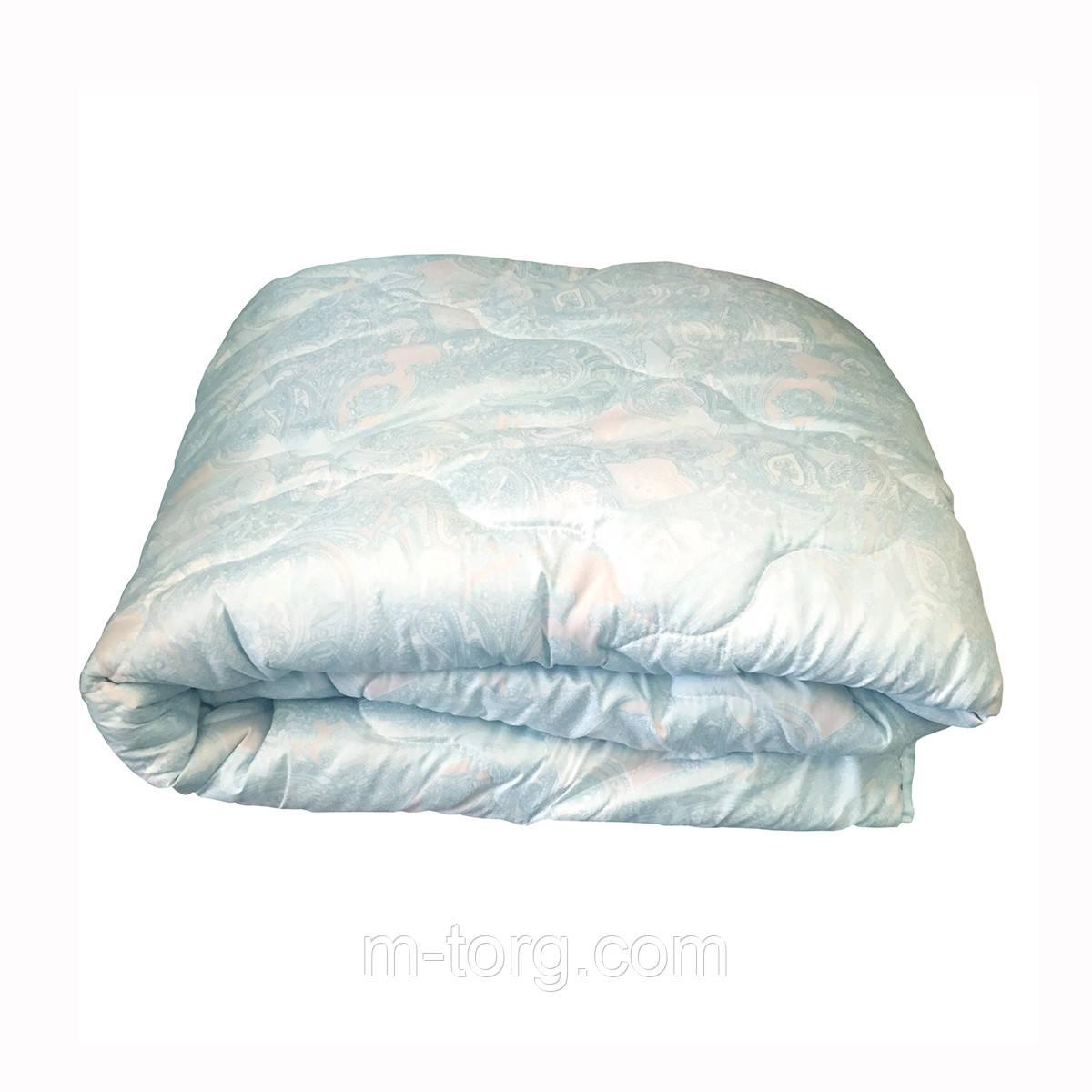 Одеяло двуспальное 180*210 с льняным наполнителем,ткань микрофибра