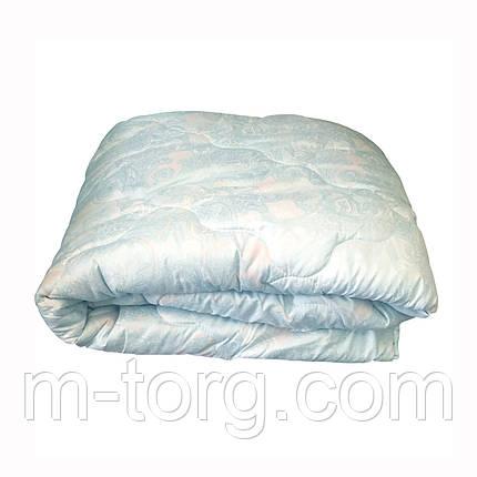 Одеяло двуспальное 180*210 с льняным наполнителем,ткань микрофибра, фото 2