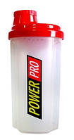 Шейкер для спортивного питания Power Pro, 600 мл, фото 1