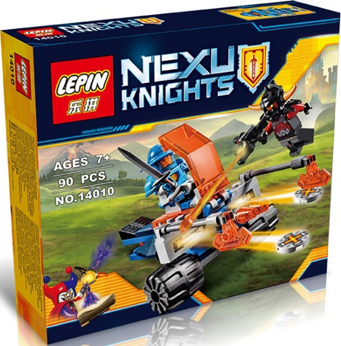 """Конструктор Lepin 14010 Nexo Knight """"Королівський бойовий бластер"""", 90 елементів"""