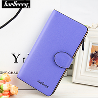 Стильный женский фиолетовый кошелек, клатч Baellerry Female