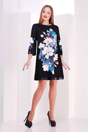 Женское  платье  Магнолии Тая-3ФК д/р  размер S,M, фото 2